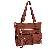 As Is Aimee Kestenberg Steph Leather Shoulder Bag - A270157