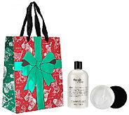 philosophy fresh cream shower gel & souffle duo w/ holiday bag - A272057