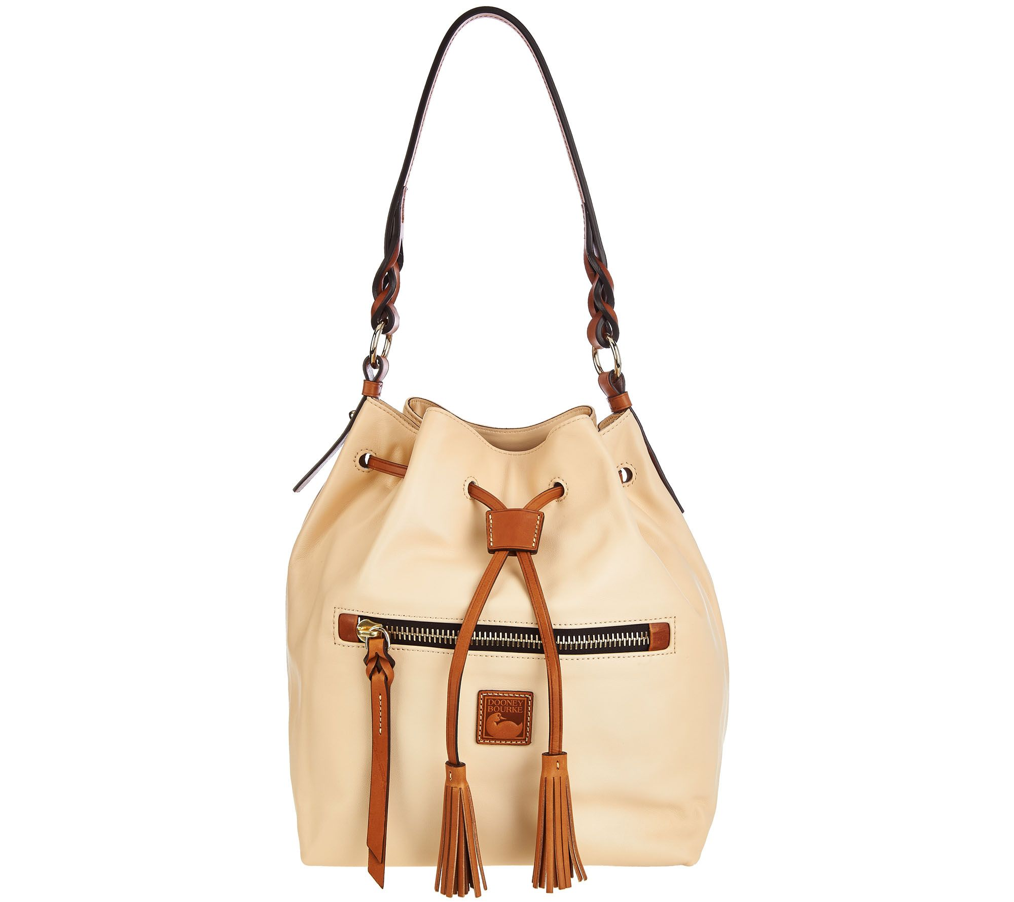 Dooney & Bourke Logan Leather Drawstring Bag - A273257