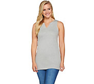 Isaac Mizrahi Live! Essentials Sleeveless Tunic - A275457