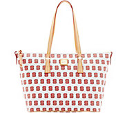 Dooney & Bourke NCAA NC State University Zip Top Shopper - A283257