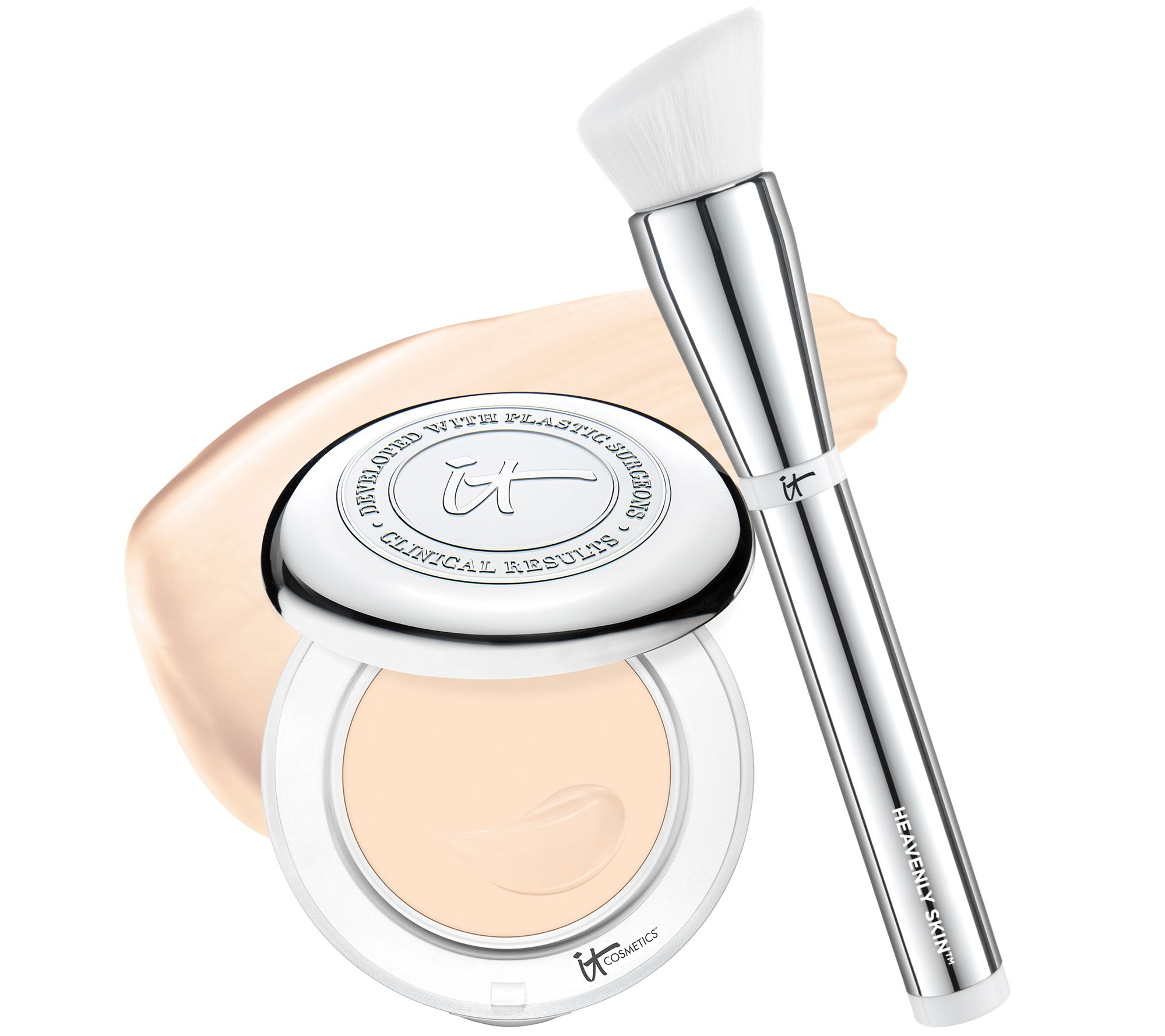 It Cosmetics x ULTA Airbrush Smoothing Foundation Brush #102 by IT Cosmetics #14