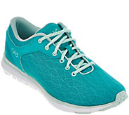 As Is Ryka Mesh Training Lace-up Sneakers w/CSS - Cygnus - A289657
