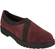 Clarks Artisan Suede Slip-on Shoes - Bellevue Cedar - A300557