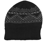 MUK LUKS Mens Cuff Cap with Fleece Lining - A334657