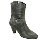 David Tate Mid-Calf Leather Boots - Columbia - A334757