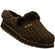 Skechers Bobs Knit Clog Slippers - Keepsakes -Delight-Fall - A335157
