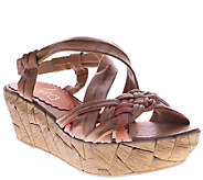 Azura by Spring Step Woven Leather Wedges - Jaques - A336757