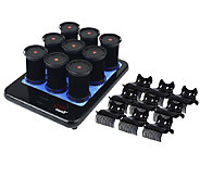 CHI Smart Set of 9 Ceramic Hot Rollers with Platform - A337857