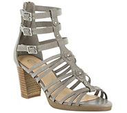 Bella Vita Leather Caged Sandals - Layne - A339057