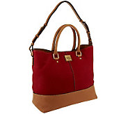 Dooney & Bourke Nubuck Leather Chelsea Shopper - A239558