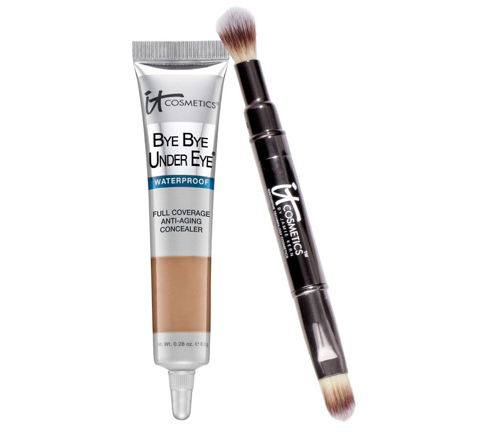 IT Cosmetics Waterproof Bye Bye Under Eye Concealer with Brush ...