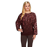 Nicole Richie Collection Placement Printed Top - A257558