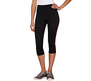 Spanx Compression Knee Pant with Contrast Stripe - A260358