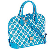 Dooney & Bourke Sanibel Coated Canvas Zip Zip Satchel - A264958