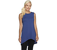As Is LOGO Layers by Lori Goldstein Petite High Neck Knit Tank - A267758