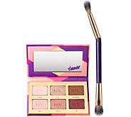 tarte Tartelette Tease Shadow Palette with D/E Brush - A274158