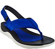 Clarks Artisan Leather Sport Thong Sandals - Caval Kora - A276058