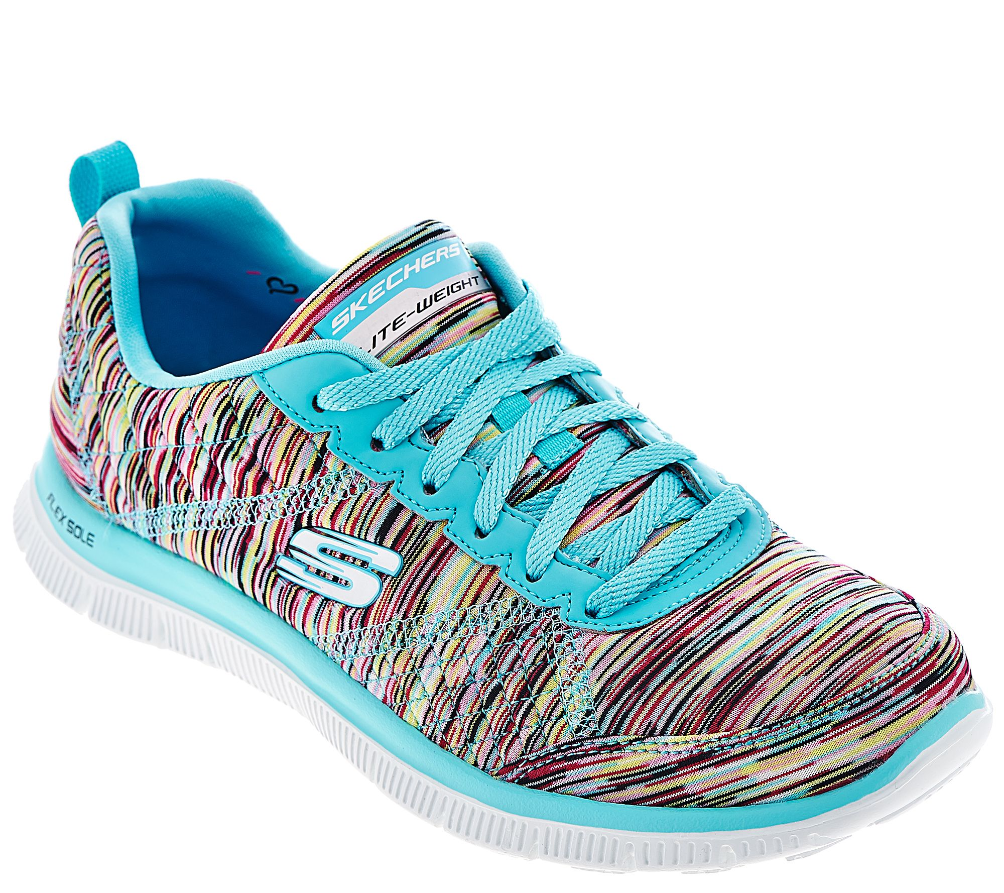 skechers space dyed sneakers with memory foam whirl wind. Black Bedroom Furniture Sets. Home Design Ideas