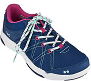 As Is Ryka Lace-up Water Resistant Sneakers - Summit - A280558