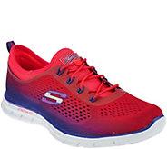 As Is Skechers Skech- Knit Slip-On Bungee Sneakers - Fearless - A282358
