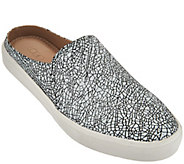 As Is LOGO by Lori Goldstein Slip-On Printed Sneakers with Open Back - A287958