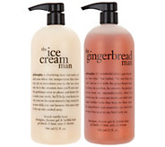 philosophy supersize sweet men shower gel duo - A293458