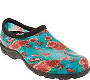 Sloggers Waterproof Pansy Garden Shoe w/ Comfort Insole - A303858