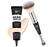 IT Cosmetics Supersize Bye Bye Under Eye Concealer with Luxe Brush - A303958