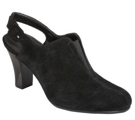 aerosoles back slingback dress shoes a327558 qvc