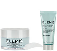 ELEMIS Pro-Collagen Marine Cream SPF 30 with Travel - A344558