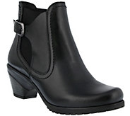 Spring Step Burnished Leather Bootie - Yaa - A355758