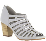 Easy Street Stacked Heel Sandals - Pilot - A357058