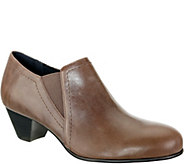 David Tate Leather Booties - Maple - A361058