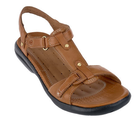 find workmanship complete range of articles coupon codes Clarks UnStructured Leather T strap Sandals Un.Shade — on ...