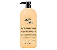 philosophy supersize vanilla birthday cake shower gel 32oz - A257759
