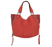 As Is Aimee Kestenberg Leather Large Halley Tote - A263159