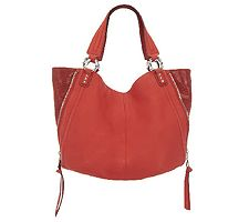 As Is Aimee Kestenberg Leather Large Halley Tote