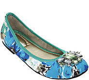Marc Fisher Slip-on Flats with Jewel Accents - Cadassi - A265259