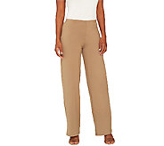 Women with Control Regular Pull-On Wide Leg Knit Pants - A266859