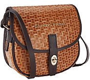 As Is Dooney & Bourke Claremont Woven Field Bag - A268859