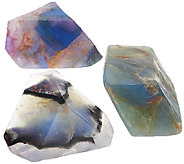 SoapRockettes Set of 3 Fall Cleansing Gemstone Soap Set - A268959