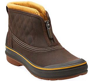 Clarks Outdoor Waterproof Slip-on Ankle Boots - Muckers Slope