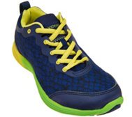 Vionic Orthotic Printed Lace-up Sneakers - Python