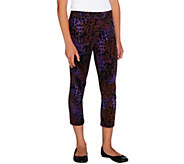 As Is LOGO Littles by Lori Goldstein Knit Cropped Pull-On Leggings - A276259