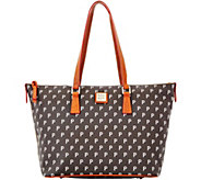 Dooney & Bourke MLB Pirates Zip Top Shopper - A280059