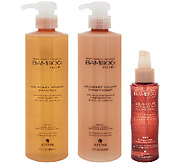 Alterna Bamboo 17oz. Shampoo & Conditioner w/ 4.2oz. Volume Spray - A282059