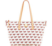 Dooney & Bourke NCAA Virginia Tech University Zip Top Shopper - A283259