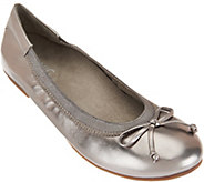 Vionic Orthotic Leather or Suede Ballet Flats - Matira - A284359