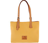 Dooney & Bourke Patterson Pebble Leather Hannah Shoulder Bag - A292759